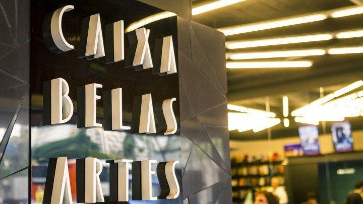 Letreiro na entrada do Cine Belas Artes foto do Rodolfo Goud para o Viajo.City, onde você encontra o que fazer em S.P com o seu estilo. O Cine Belas Artes é uma das dicas para quem curte a 7º arte.