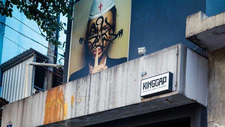 KINGCAP's entrance in São Paulo
