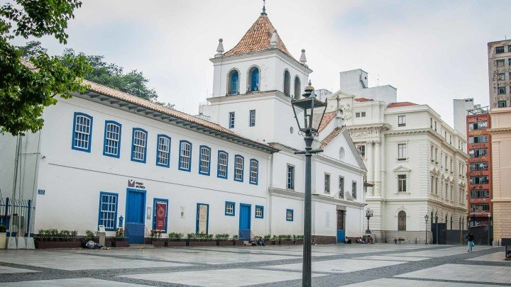 Pateo do Collegio, faz parte de um dos roteiros do Viajo.City de São Paulo. A foto foi tirada pelo fotógrafo Rodolfo Goud.