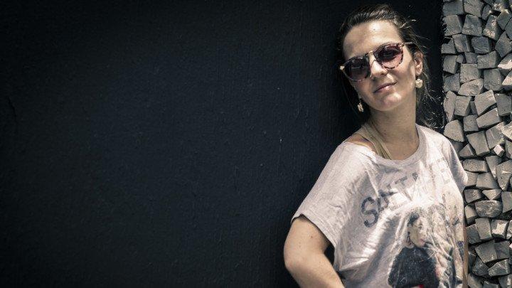 Portrait of Luciana Bauer by Rodolfo Goud.