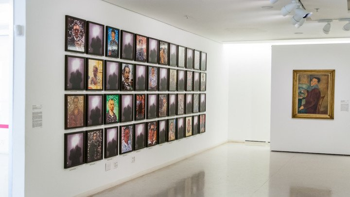 Sala do MAC, museu recomendado pelo Facundo Guerra no guia Viajo.City, de São Paulo. Foto do Rodolfo Goud