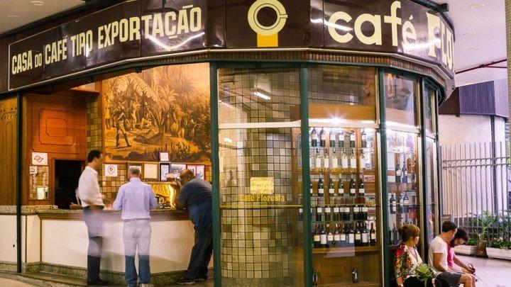 Café Floresta at São Paulo, Brazil