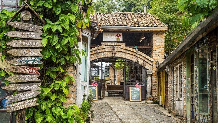 Velhão entrance at Serra da Cantareira - São Paulo, Brazil
