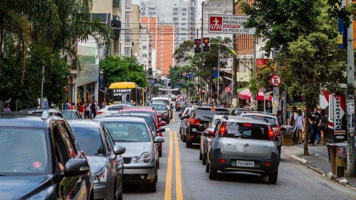 Rua Augusta in São Paulo